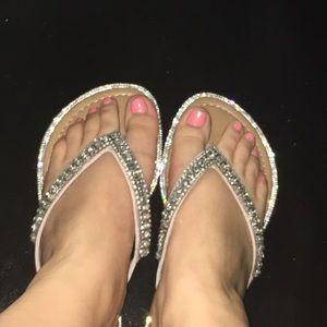 NWT Madeline Stuart bling sandal 9.5